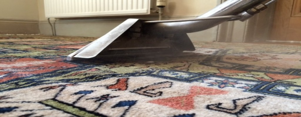 Safely cleaning a naturally dyed rug in Hove, Sussex