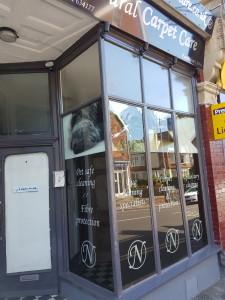 New shopfront