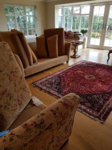 rug and sofa image