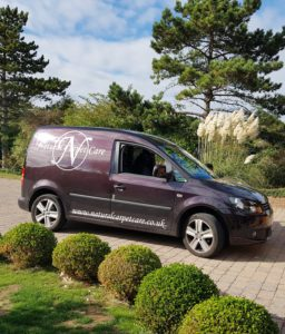 Natural carpet care van