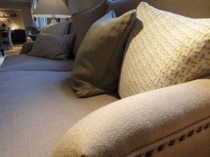 a clean sofa