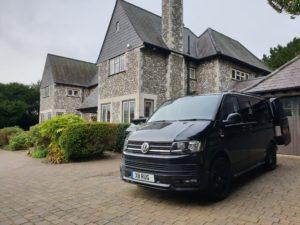 black vw van