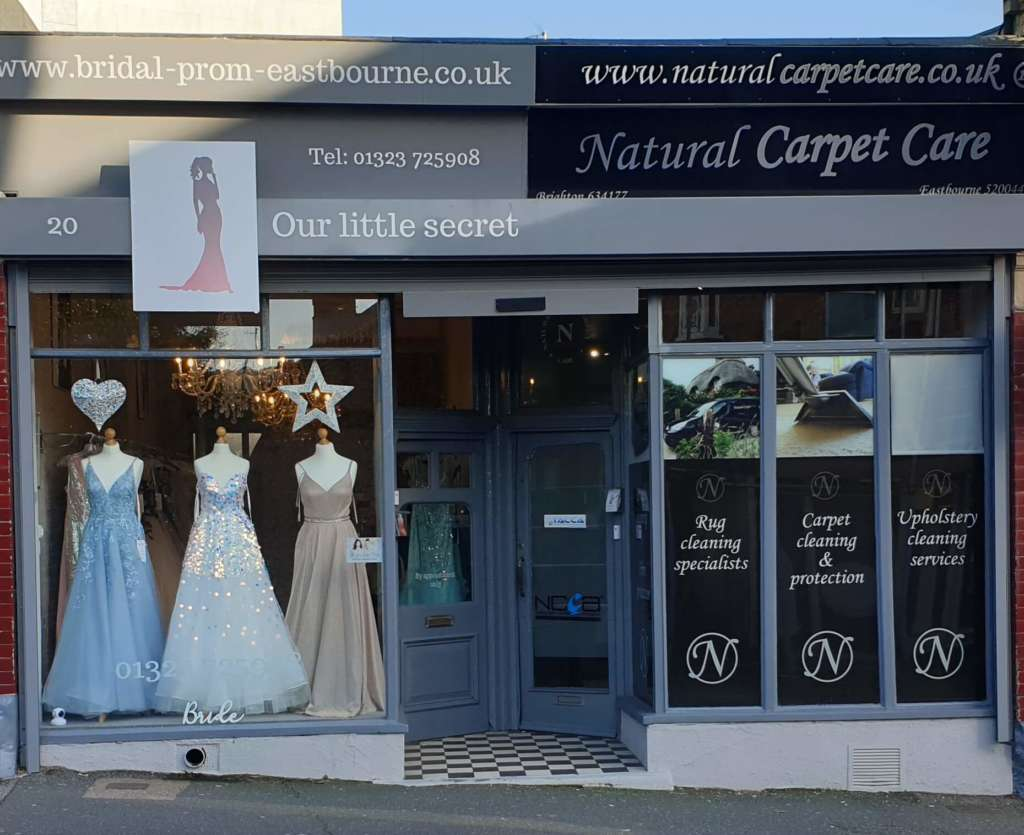 Carpet & rug cleaning shopfront