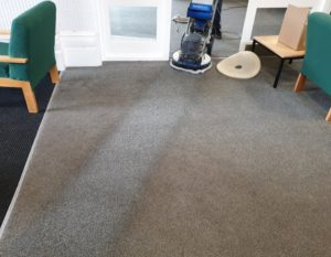 Commercial carpet cleaning image