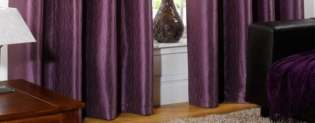 purple curtain image