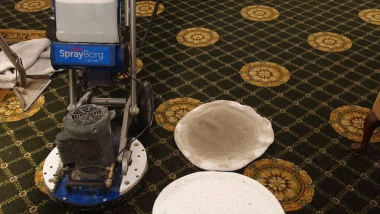 Commercial carpet cleaning in Eastbourne